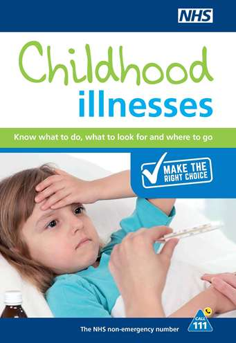 Childhood illnesss guide front page