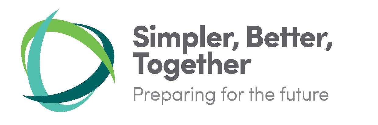 Simpler better together banner