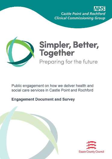 Simpler better together booklet image