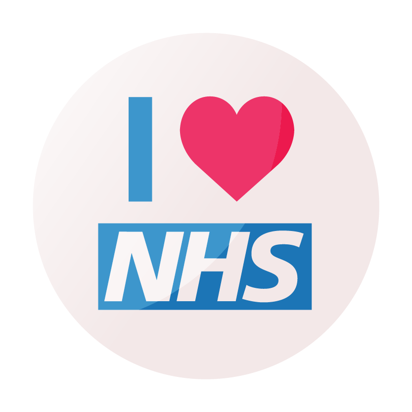 Love NHS Badge