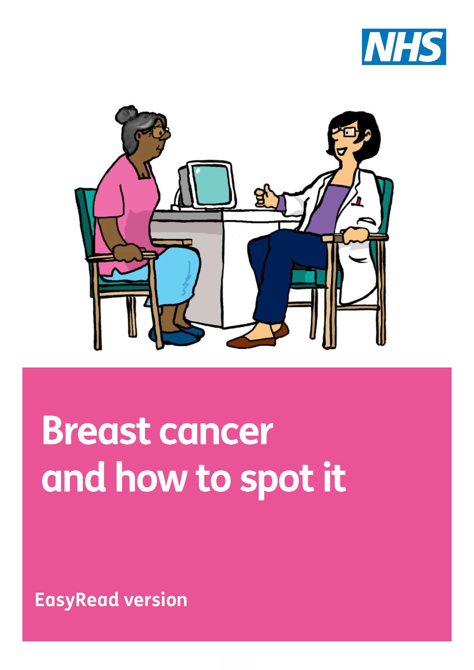 Breast cancer and how to spot it easy read