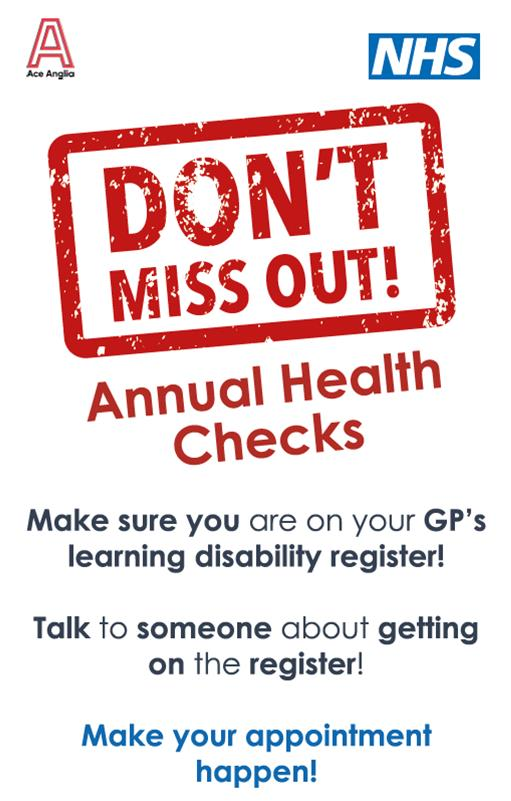 Don't miss out on your annual health check