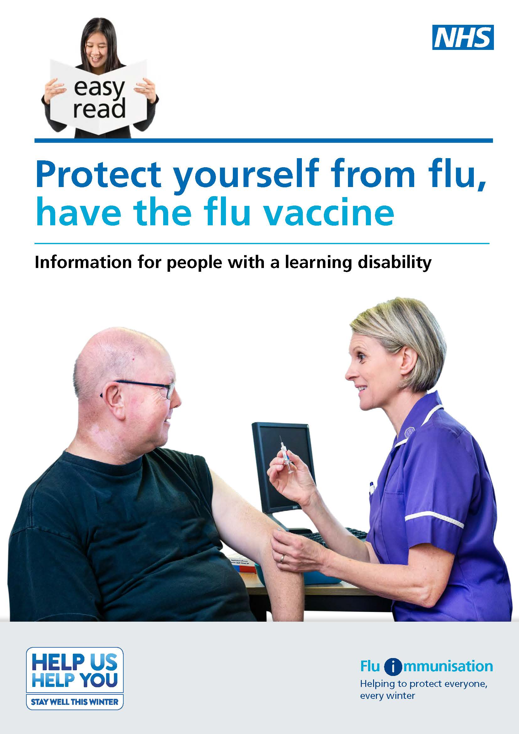 Protect yourself from flu easy read