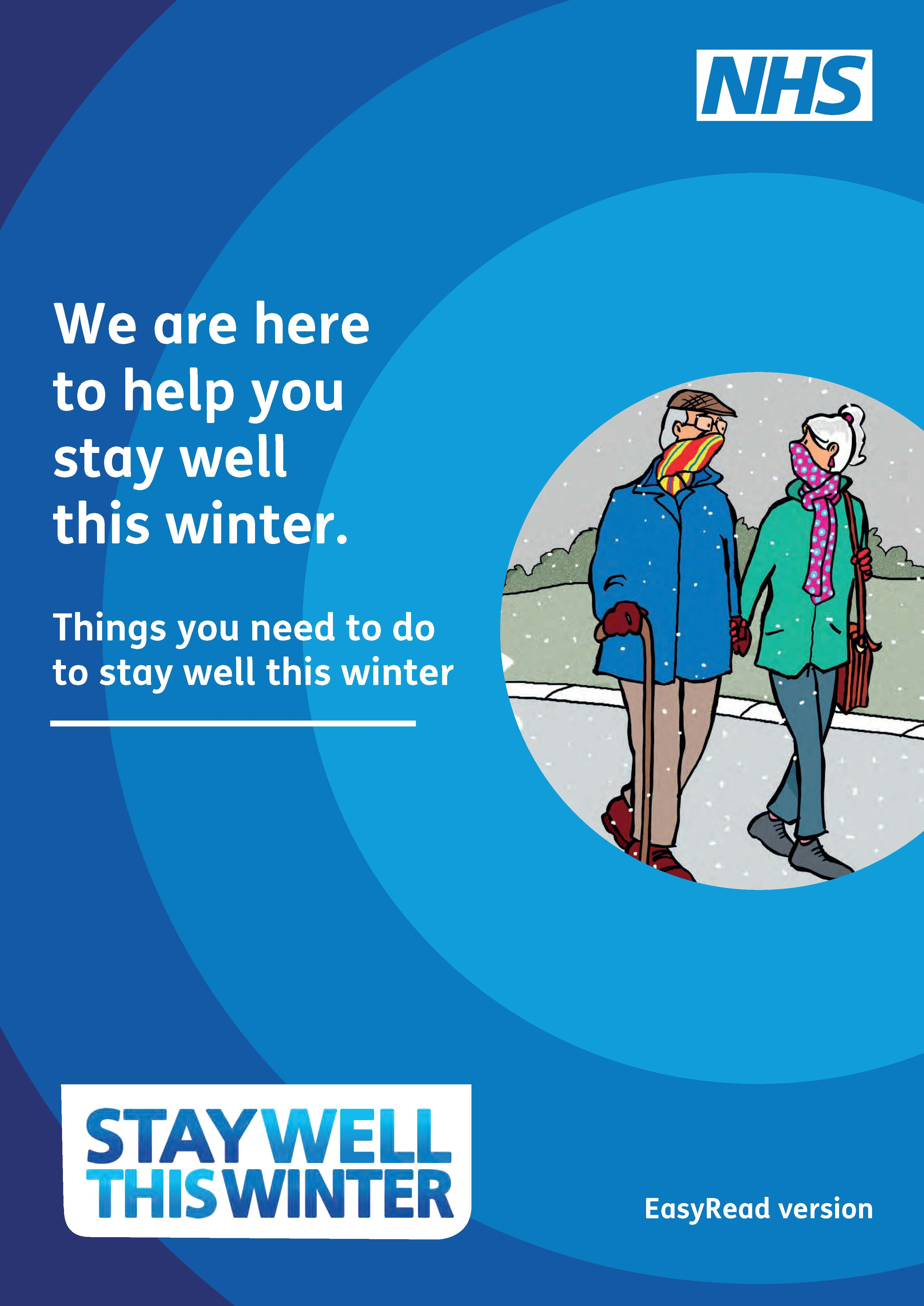 Stay well this winter easy read leaflet